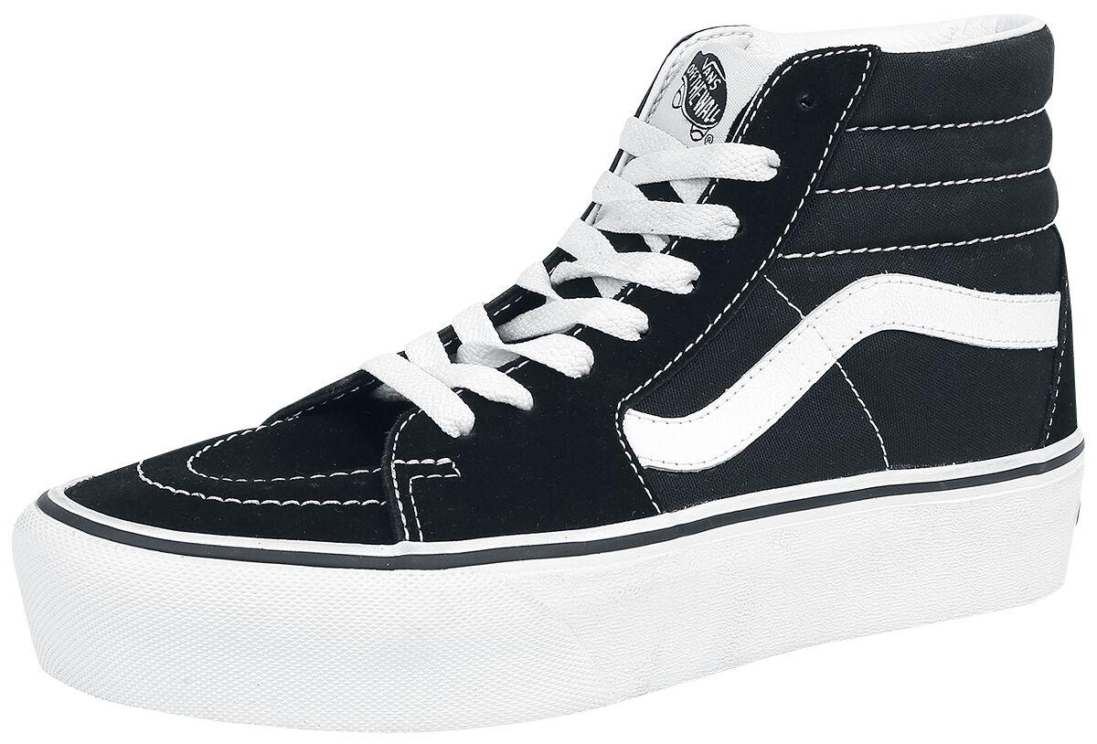 Image of   Vans SK8-Hi Platform 2.0 Sneakers sort-hvid