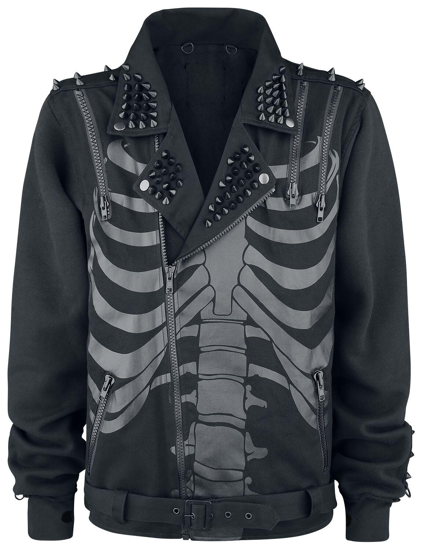 new style b228a 74ec6 Heartless Fin Jacket Jakke sort