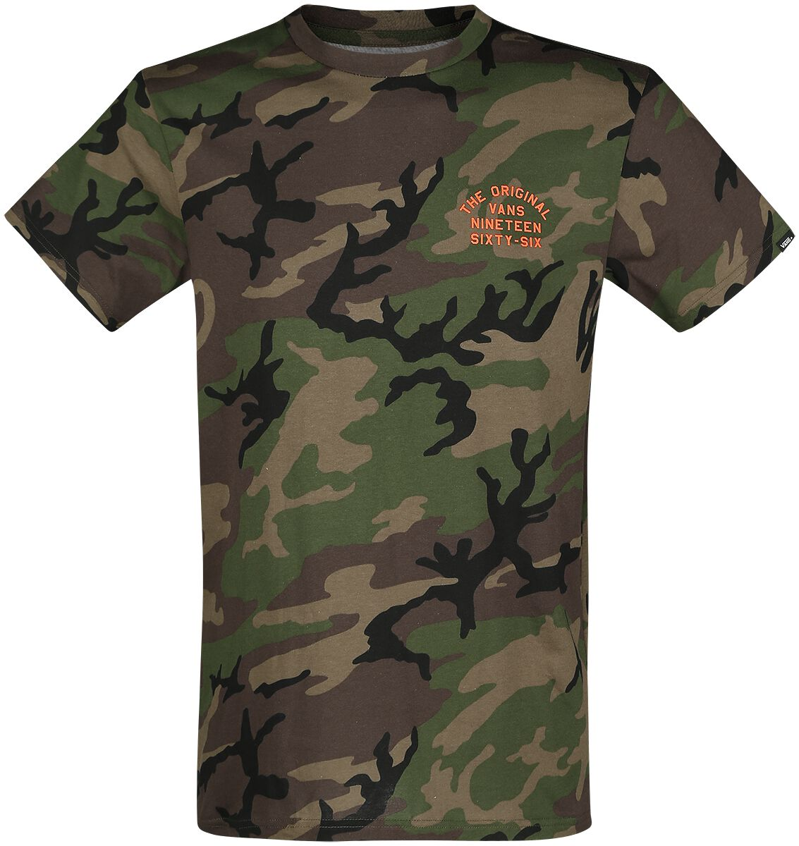 Image of   Vans Spring Training T-Shirt camouflage