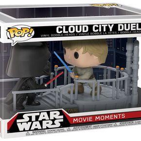 Star Wars Figurine En Vinyle Duel Dans La Cité Des Nuages 226 (Movie Moments) Figurine de collection Standard