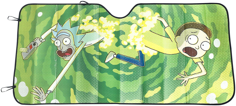 Rick And Morty Portal - Sonnenblende Auto-Deko ...
