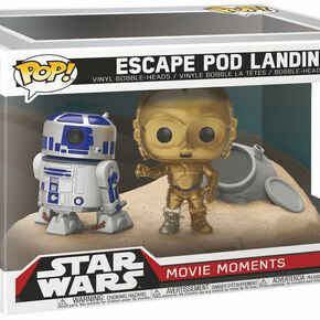 Star Wars Figurine En Vinyle Escape POD Landing (Movie Moments) 222 Figurine de collection Standard