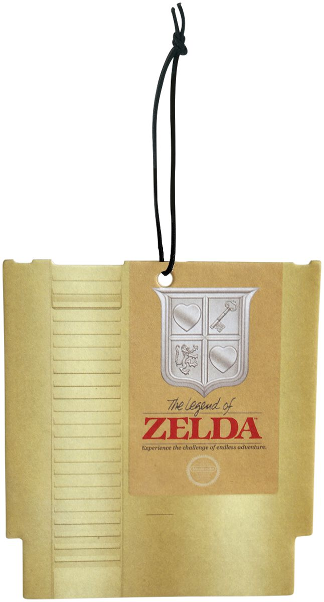 Image of   The Legend Of Zelda Golden Cartridge Luftfriskere multifarvet