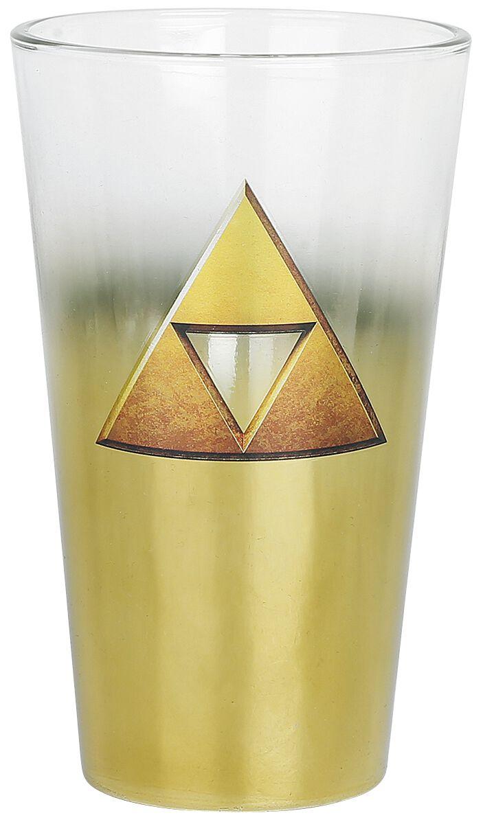 Image of   The Legend Of Zelda Triforce Ølglas multifarvet