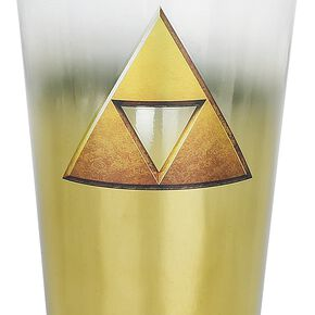 The Legend Of Zelda Triforce Verre à pinte multicolore