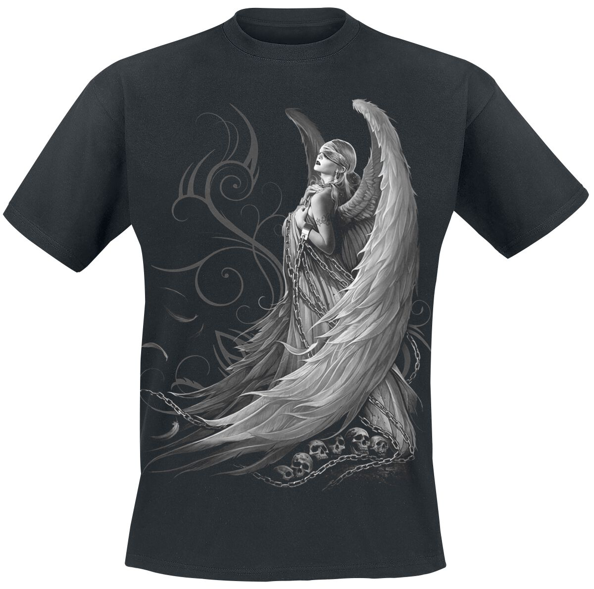 Image of   Spiral Captive Spirit T-Shirt sort