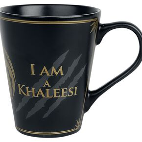 Game Of Thrones I am not a Princess Mug en céramique noir