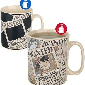 One Piece Wanted - Mug Thermoréactif Mug multicolore