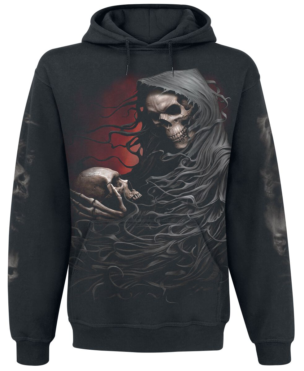 Image of   Spiral Death Robe Hættetrøje sort
