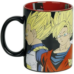 Dragon Ball Z - Saiyans vs Cyborgs Mug multicolore