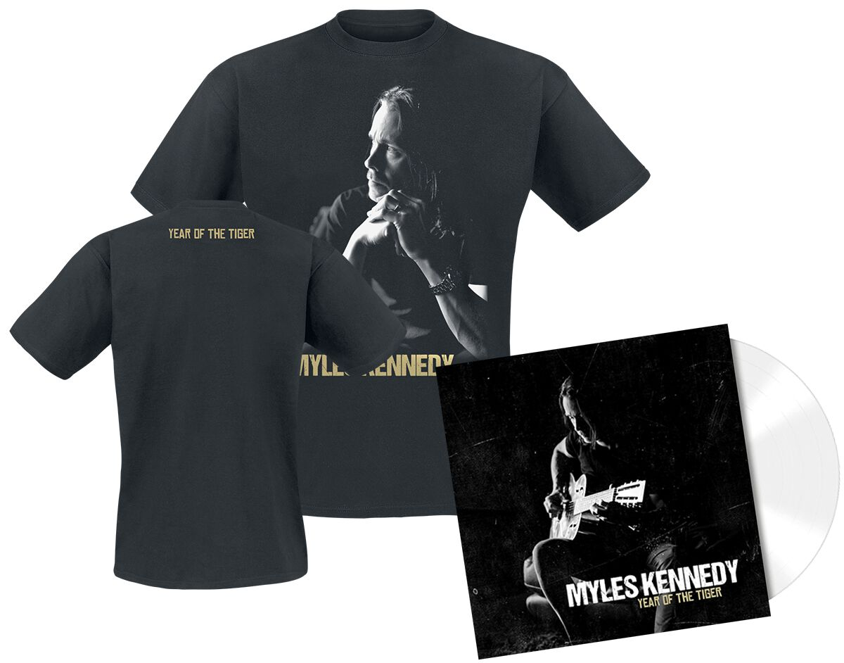 Image of   Kennedy, Myles Year of the tiger CD & T-Shirt standard