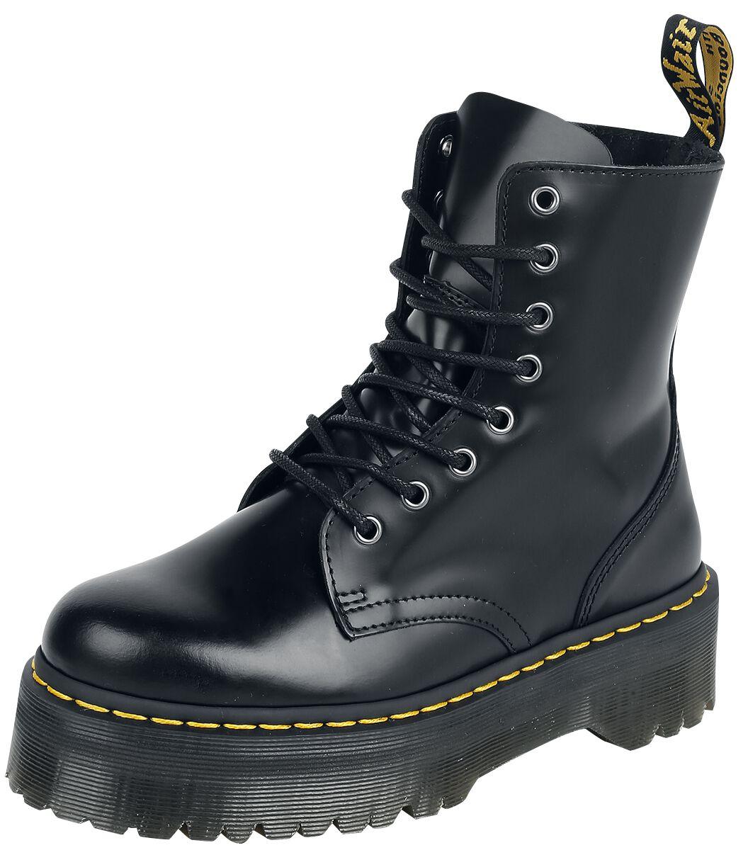 Stiefel für Frauen - Dr. Martens Jadon Quad Boots schwarz  - Onlineshop EMP