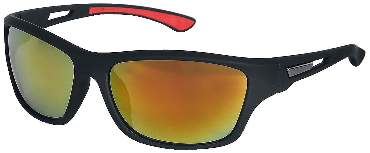 Biker - - Sunglasses - black-red