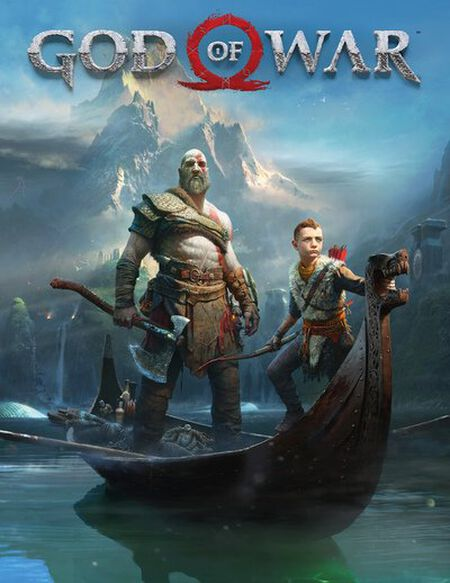 God of War Key Art Maxi Poster 61 x 91.5cm