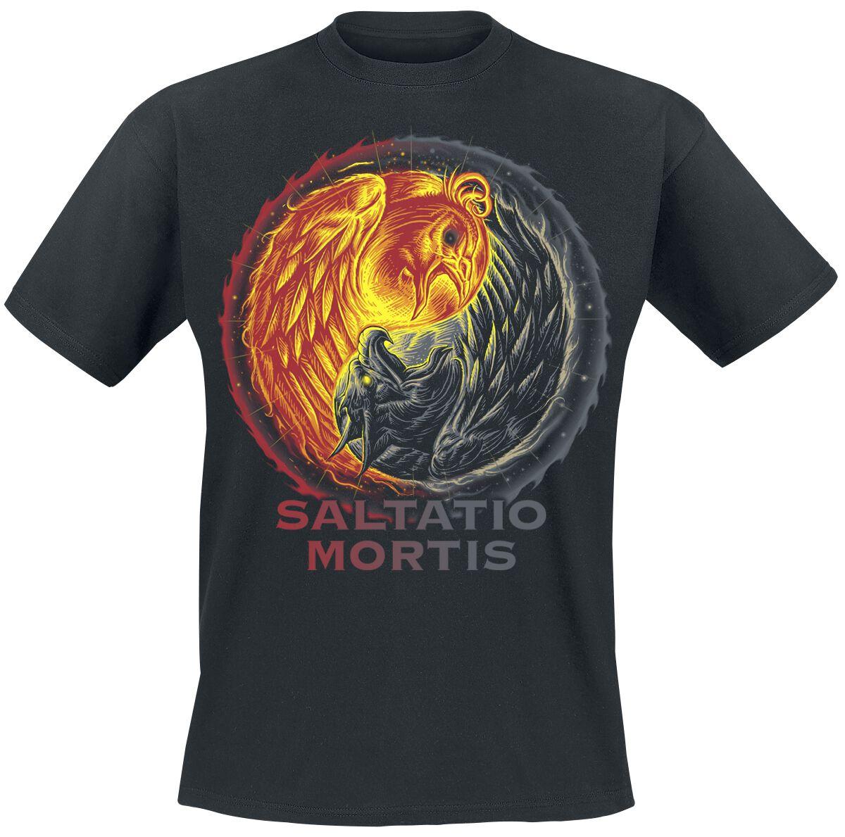 Zespoły - Koszulki - T-Shirt Saltatio Mortis Yin Yang T-Shirt czarny - 376023