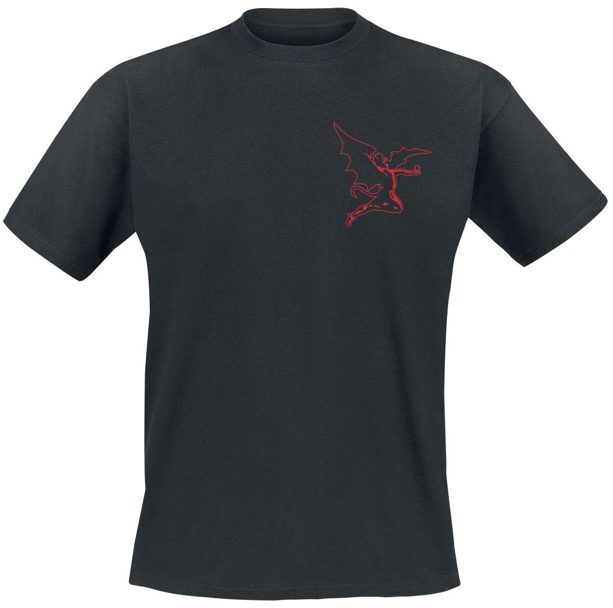 Image of   Black Sabbath Cherub T-Shirt sort