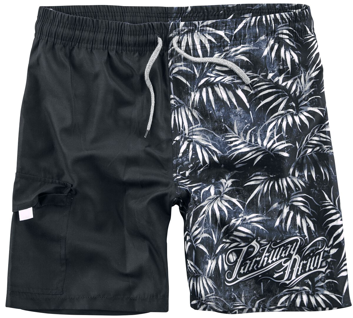 Image of   Parkway Drive EMP Signature Collection Badeshorts sort-grå
