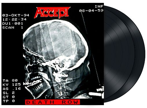 Image of   Accept Death row 2-LP Standard