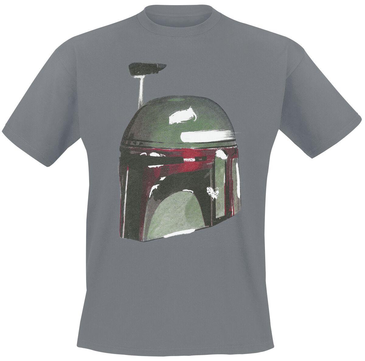 Image of   Star Wars Boba Fett T-Shirt grå