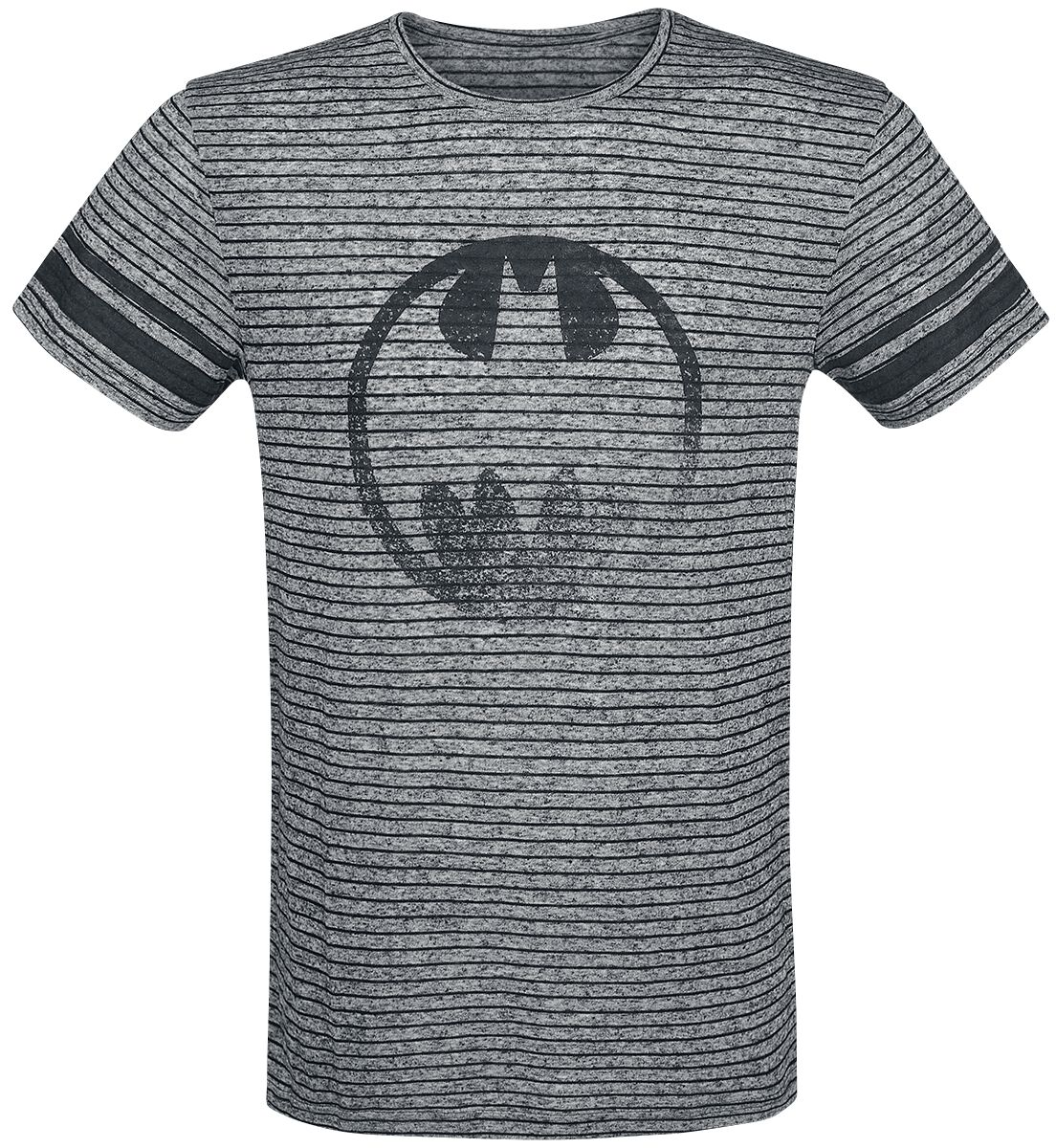 Image of   Batman Gotham City 39 Girlie trøje blandet grå-sort
