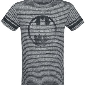 Batman Gotham City T-shirt gris chiné/noir