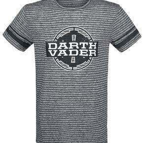 Star Wars Dark Vador T-shirt gris chiné/noir
