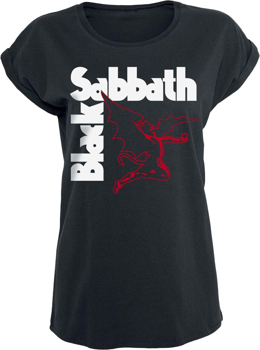Image of   Black Sabbath Creature Girlie trøje sort