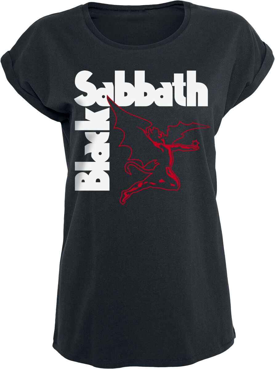 Zespoły - Koszulki - Koszulka damska Black Sabbath Creature Koszulka damska czarny - 376280