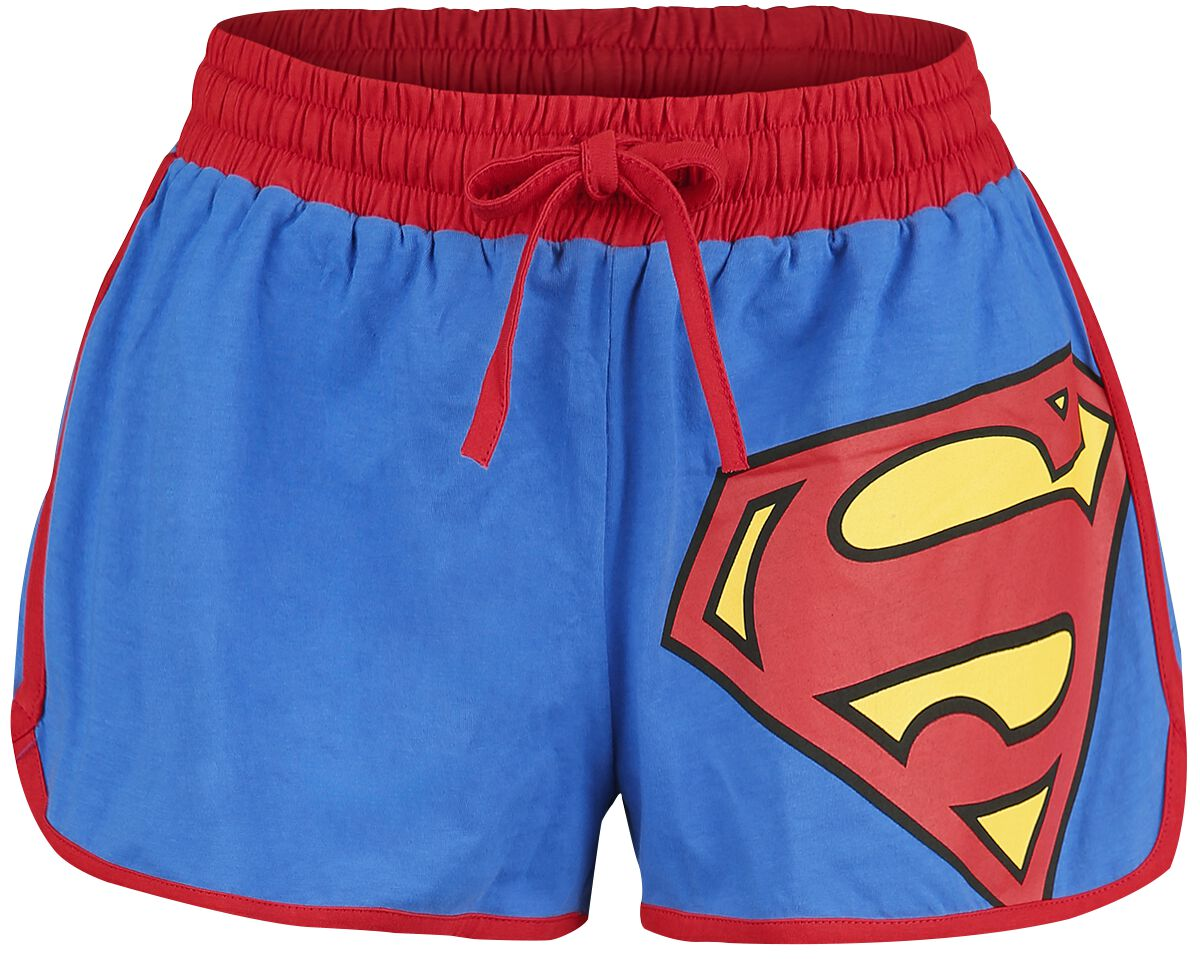 Image of   Superman Logo 33 Girlie trøje blå