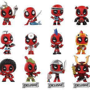 Deadpool Playtime - Mystery Mini Blind Figurine de collection Standard