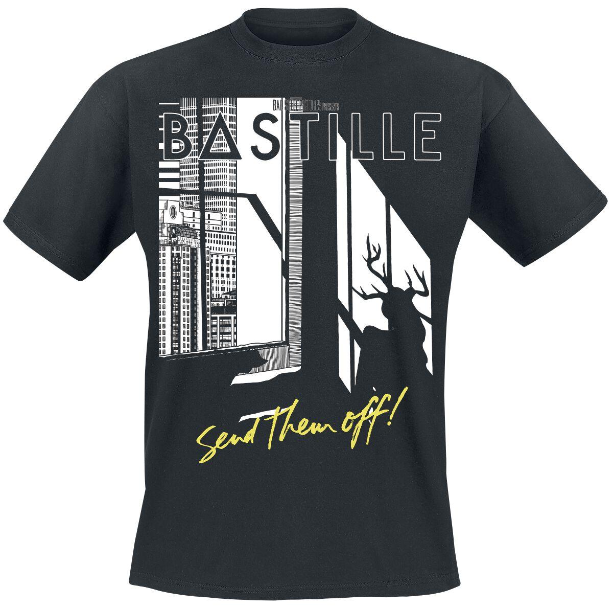 Zespoły - Koszulki - T-Shirt Bastille Send Them Off T-Shirt czarny - 376322