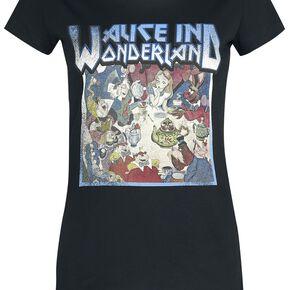 Alice Au Pays Des Merveilles Tour 1865 T-shirt Femme noir