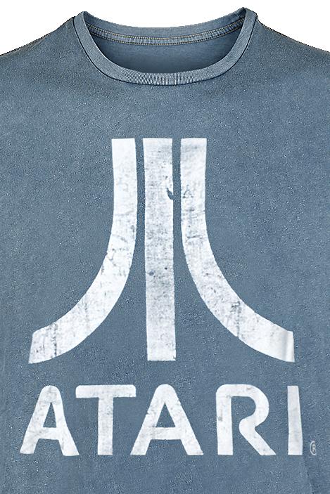 Image of Atari Logo T-Shirt blau