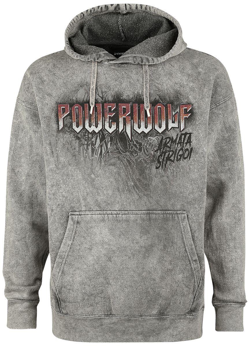Image of   Powerwolf Armata Strigoi Hættetrøje grå