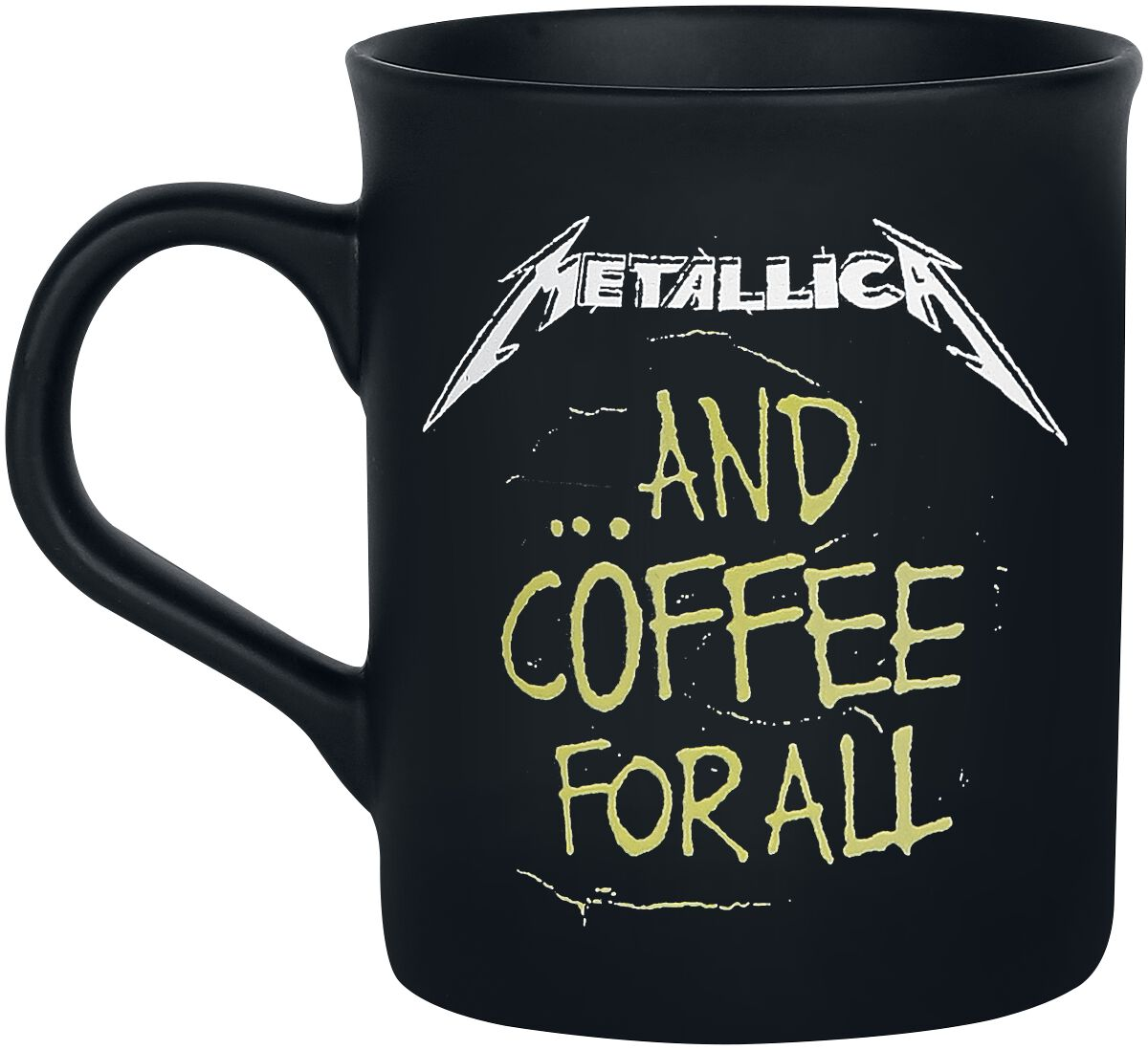 Image of   Metallica ... and coffee for all Krus matsort