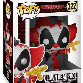 Figurine Pop! Deadpool Déguisé (Marvel) - Clown