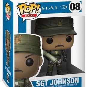 Figurine Pop! Sgt. Johnson - Halo