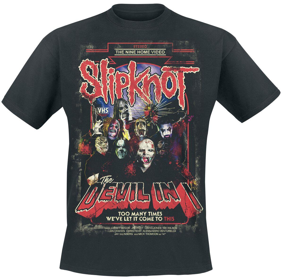 Image of   Slipknot The Devil In I T-Shirt sort
