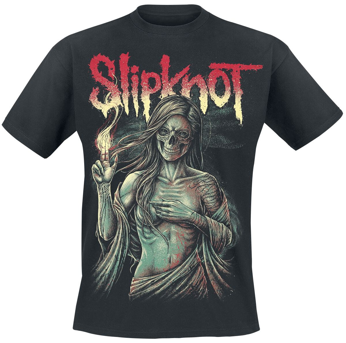 Image of   Slipknot Burn Me Away T-Shirt sort