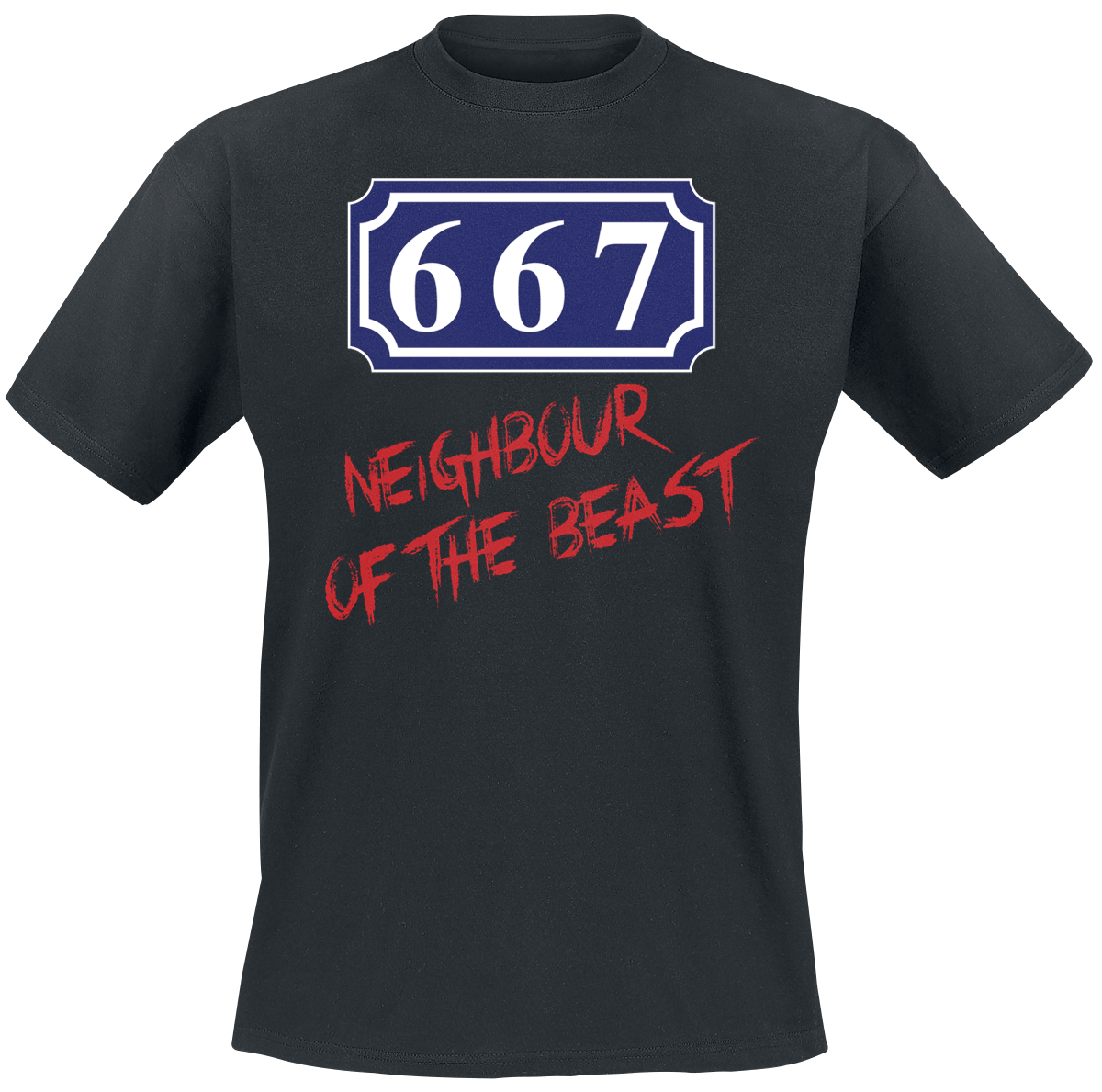 667 Neighbour Of The Beast - - T-Shirt - black
