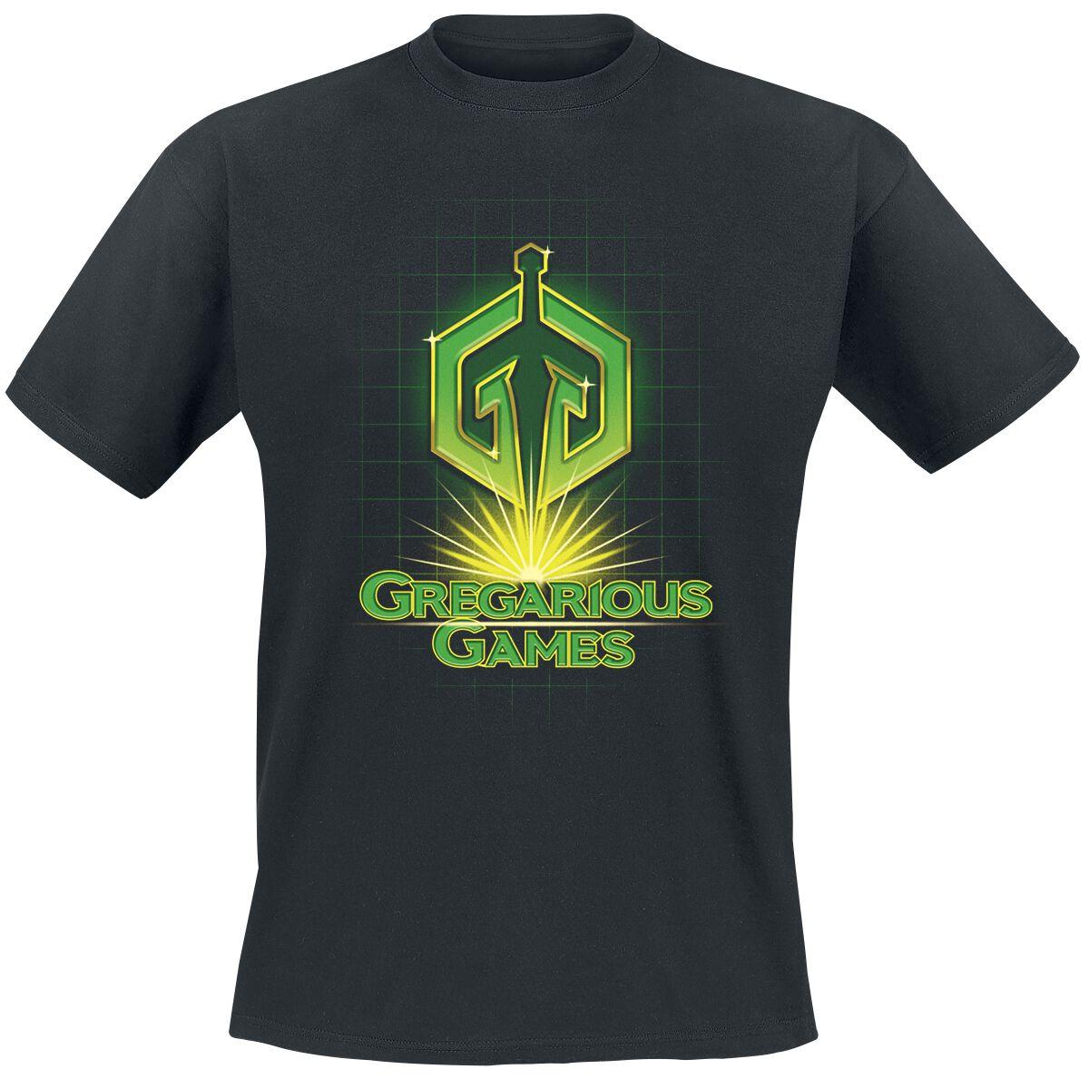Ready Player One Gregarious Games Camiseta Negro