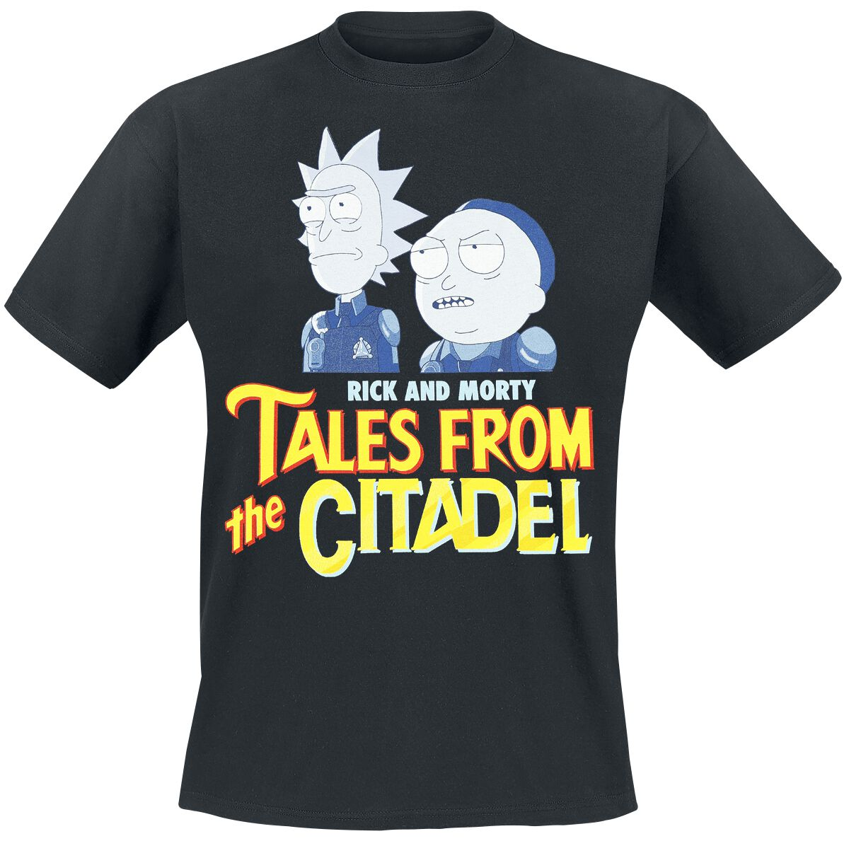 Image of   Rick And Morty Tales From The Citadel T-Shirt sort