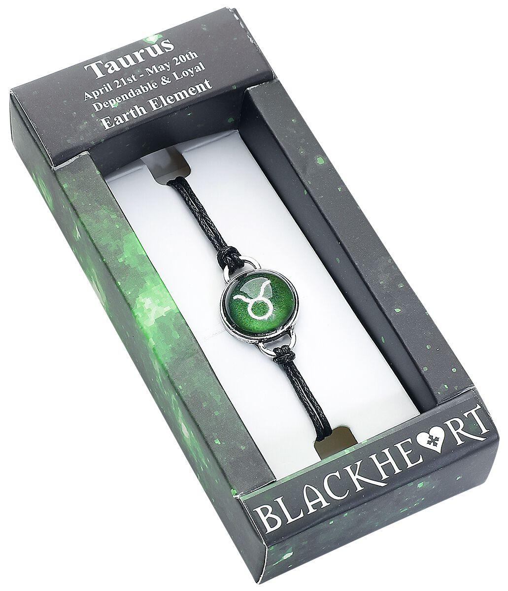 Image of   Blackheart Tyren stjernetegn Armbånd grøn