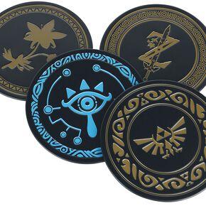 The Legend of Zelda Metal Coasters