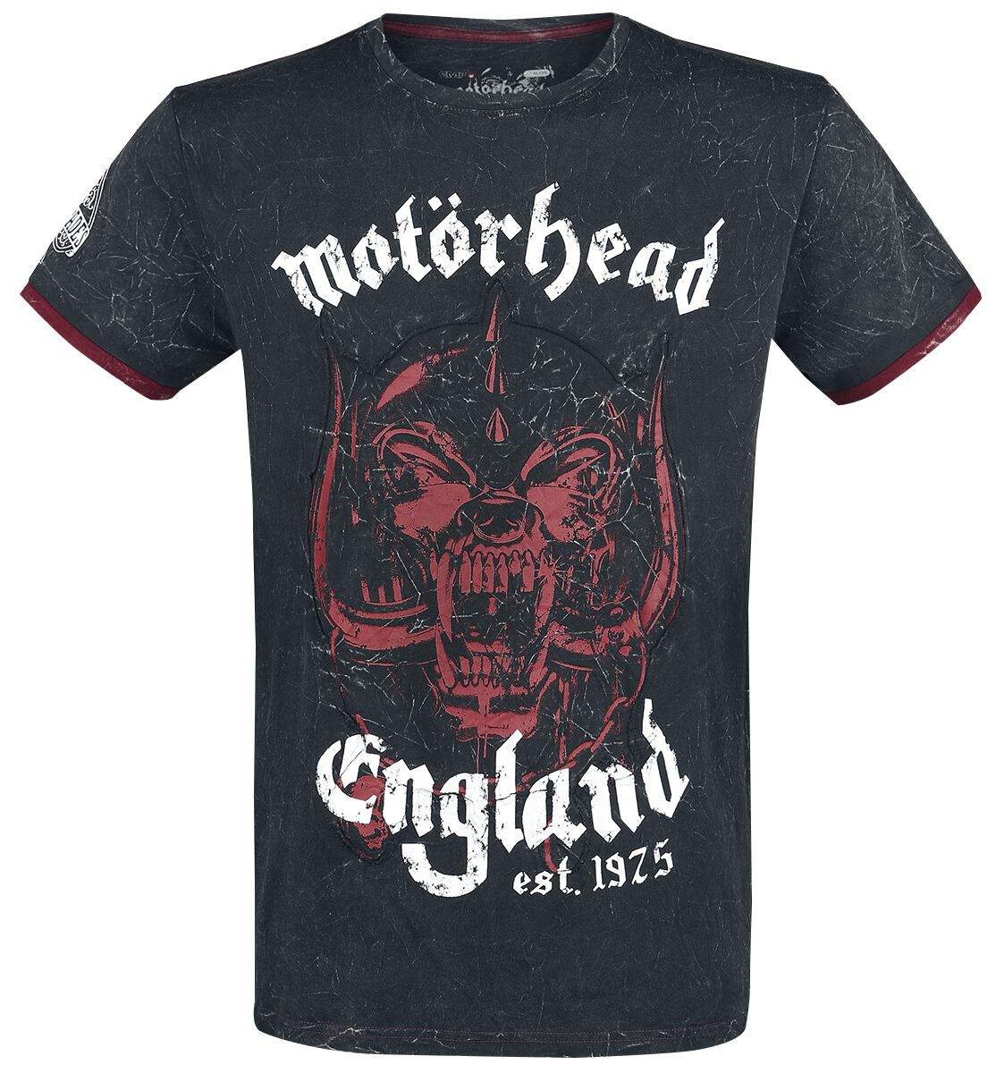 Image of   Motörhead EMP Signature Collection T-Shirt koks-rød
