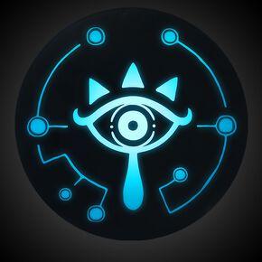 The Legend Of Zelda Sheika Eye Lampe Standard