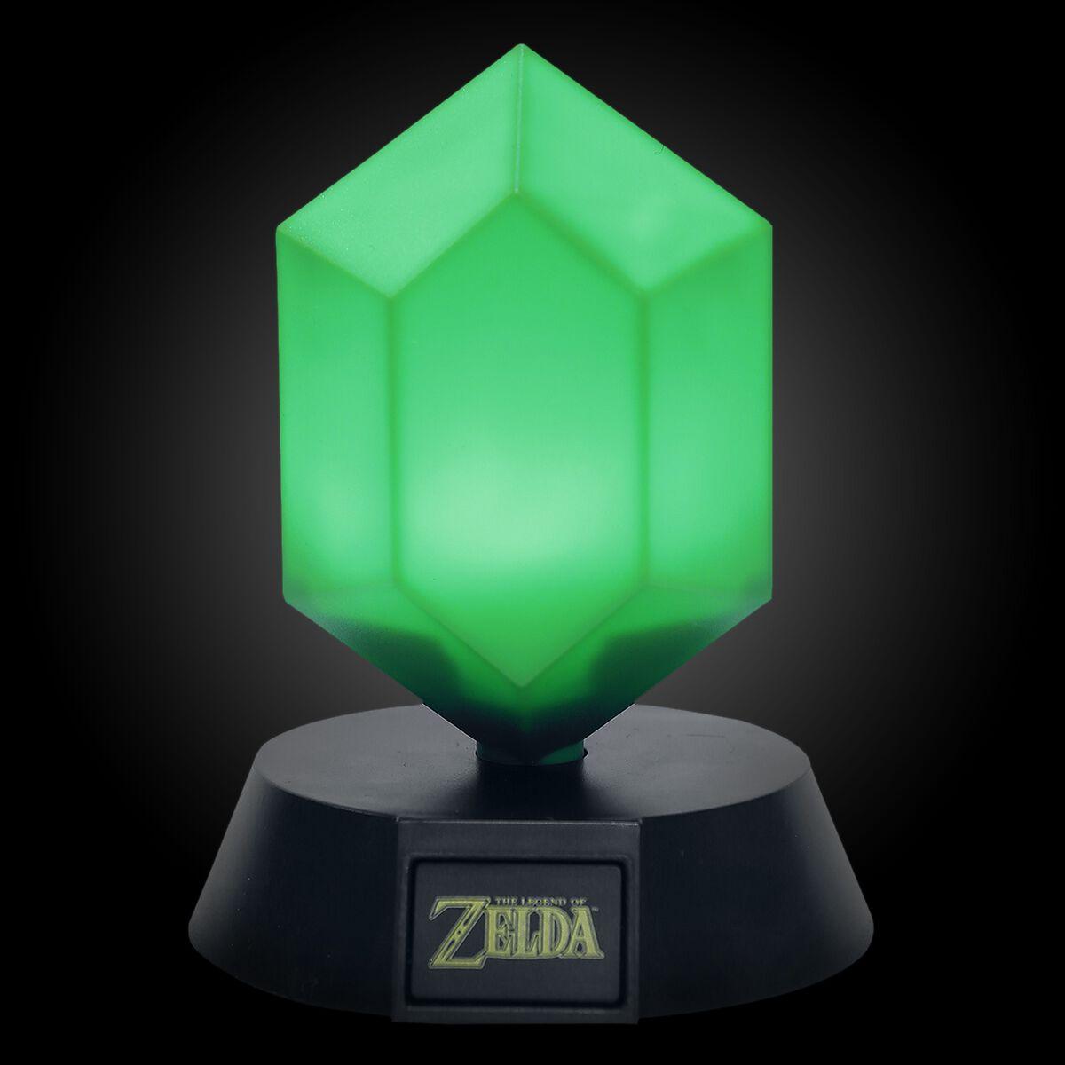 Image of   The Legend Of Zelda Grüner Rubin Lampe Standard