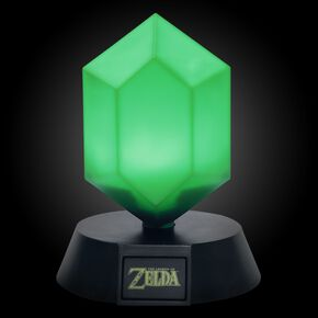Veilleuse Roupie Verte 3D - The Legend of Zelda