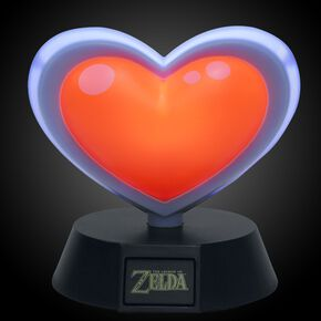 The Legend Of Zelda Piece of Heart Lampe Standard