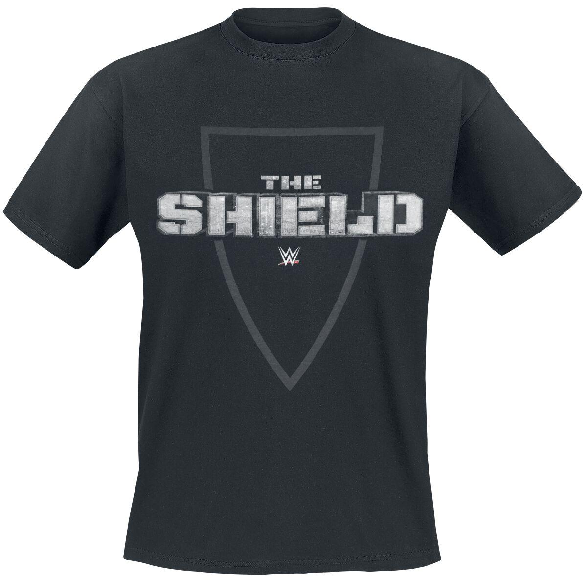 Merch dla Fanów - Koszulki - T-Shirt WWE The Shield T-Shirt czarny - 376800